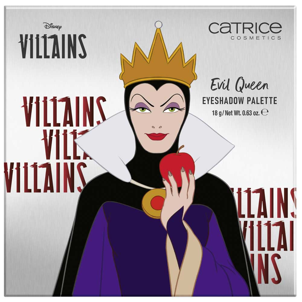 Catrice palette make up Disney Villains