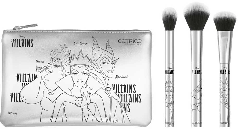 Set pennelli viso Catrice Disney Villains