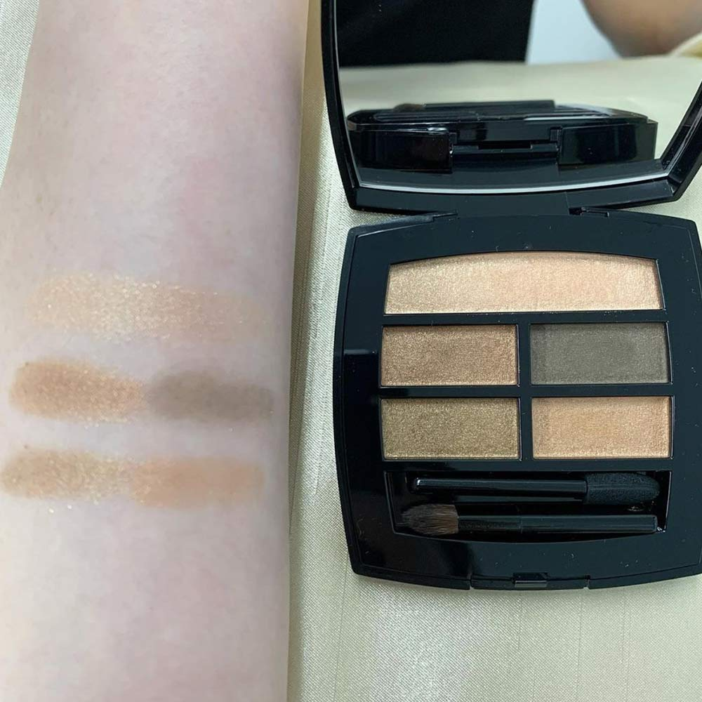 Swatches palette ombretti Chanel