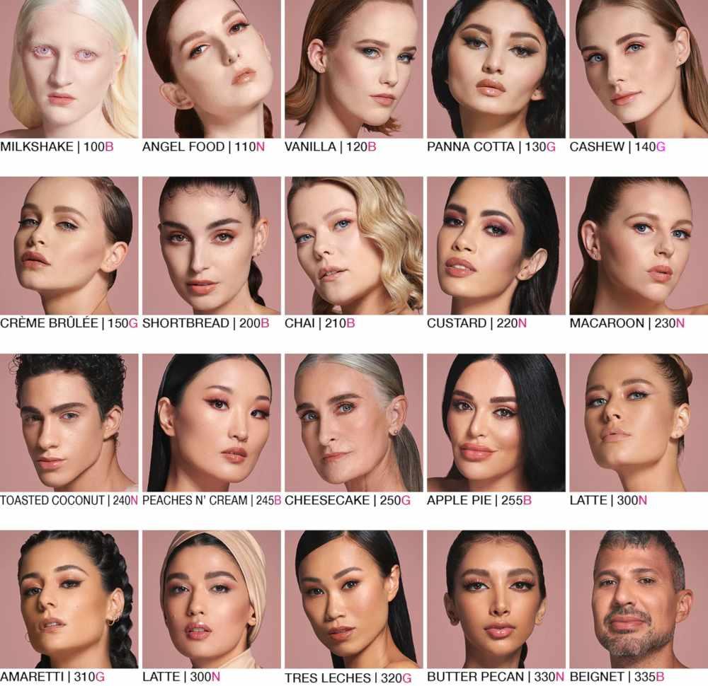 Huda Beauty fondotinta Faux Filter
