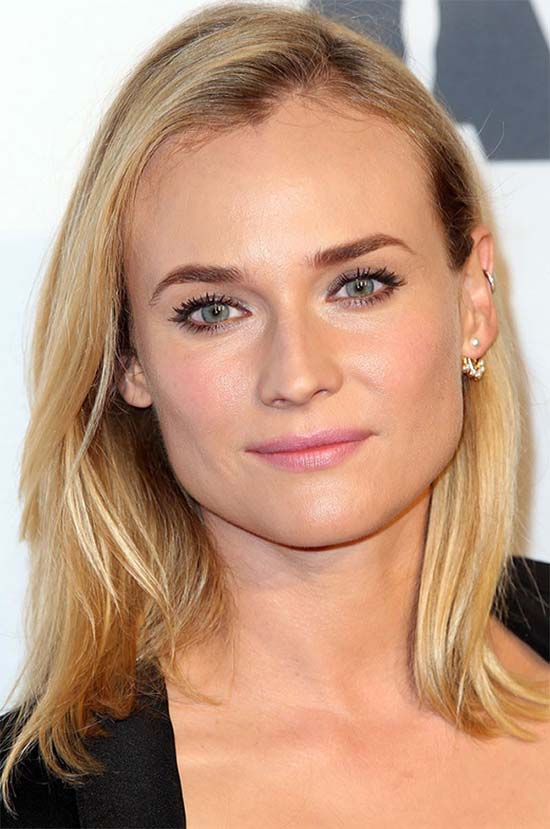 Diane Kruger Layered Bob HairStyles