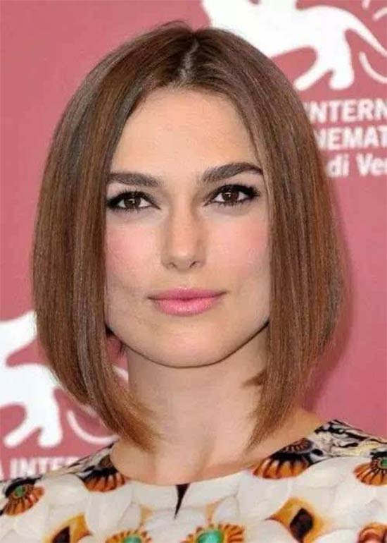 keira-knightley Layered Bob HairStyles