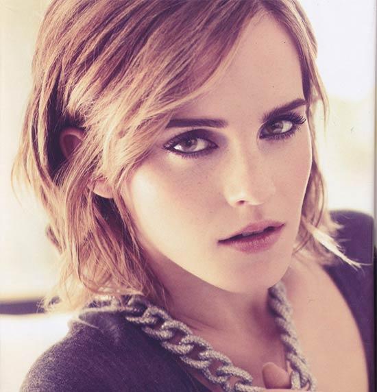 Emma Watson Layered Bob HairStyles