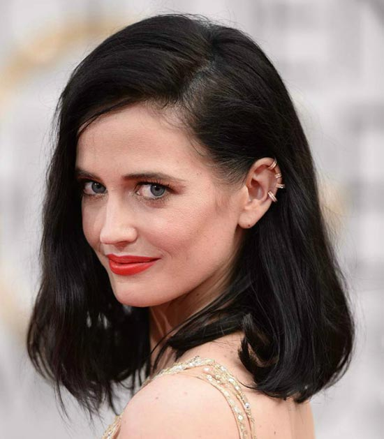Eva Green Long Bob Hairstyles