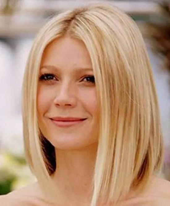 Gwyneth Paltrow Medium Length Hairstyles for Thin Hair