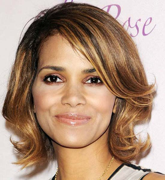 Halle Berry Messy Bob Hairstyles