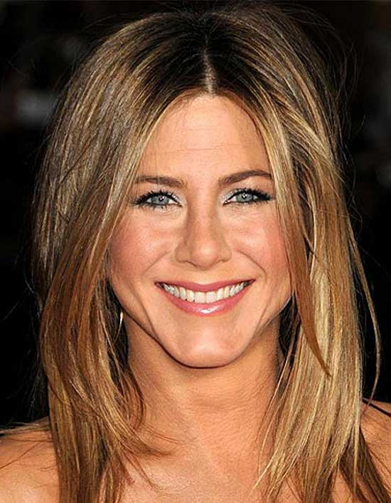 Jennifer Aniston Medium Hairstyles for Women