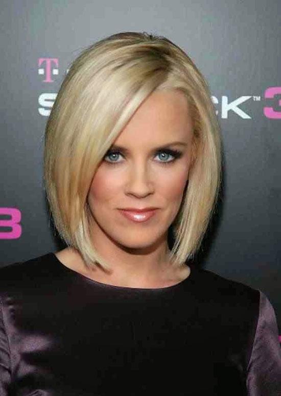 Jenny Mccarthy Angled Bob Hairstyle
