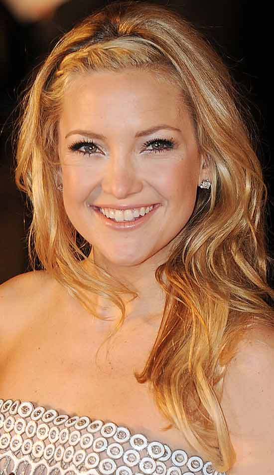 Kate Hudson Medium Blonde Hairstyles