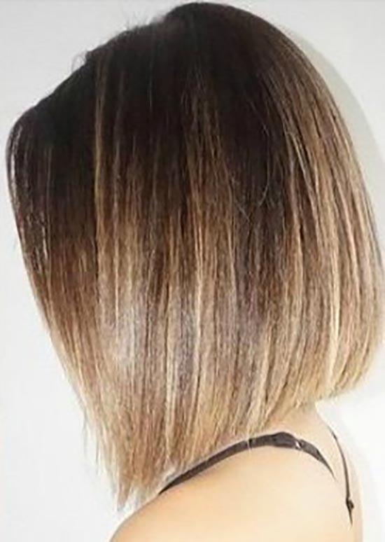 Mila kunis Blunt Bob Hairstyles
