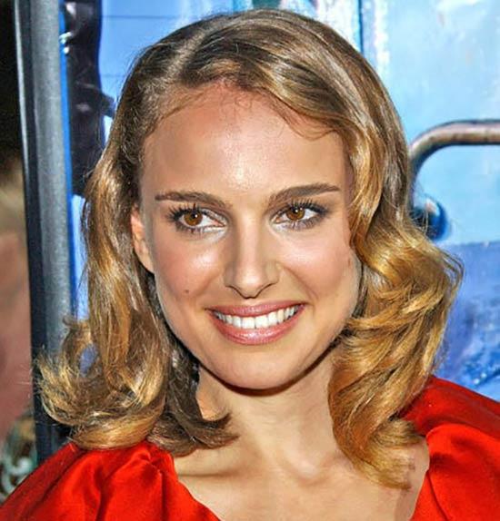 Natalie Portman Angled Bob Hairstyle