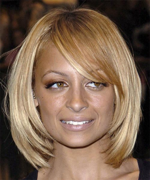 Nicole Ritchie Layered Bob HairStyles