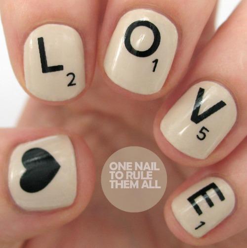 Valentine's Day Nail Art Design