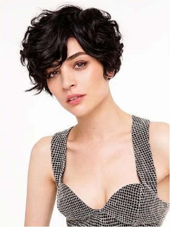 Gonca Vuslateri Curly and Wavy Pixie Cuts