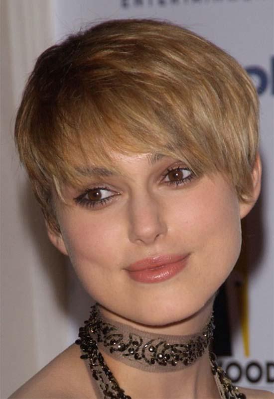 Keira Knightley Short Blonde Hairstyles