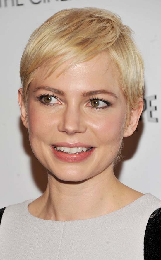MICHELLE WILLIAMS Short Hair with Bangs