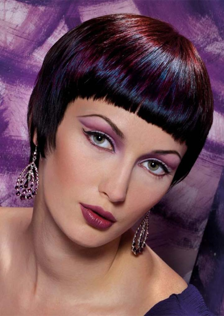 Michelle Thompson short fringe hairstyle