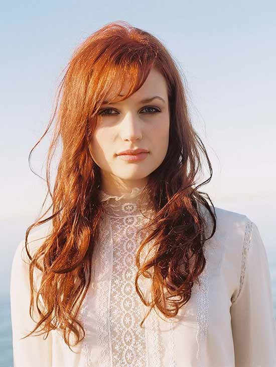 Yael Naim RED Hair Styles