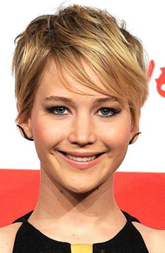 Top 18 Jennifer Lawrence Hairstyles Amp Haircuts Inspire You
