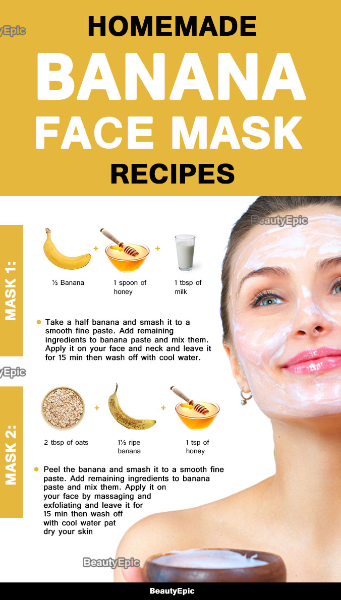 Banana Face Mask Benefits And Top 8 Diy Recipes Always In Health