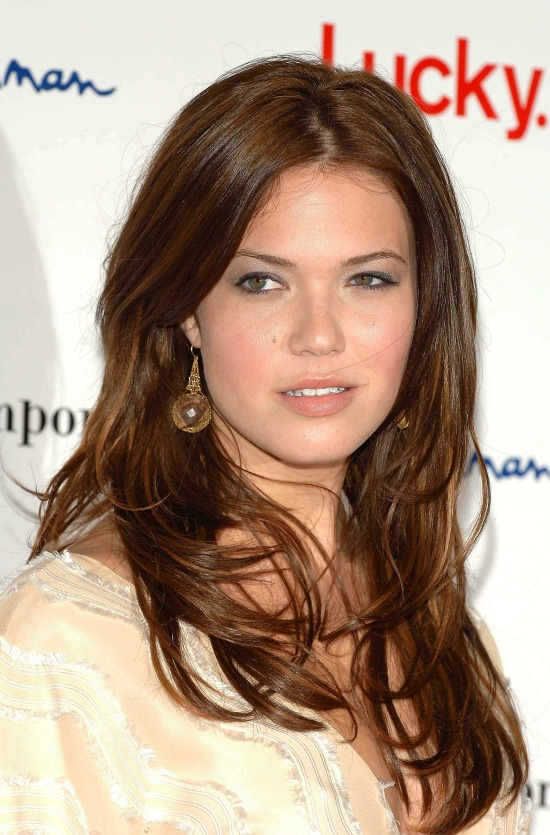 Mandy Moore Layered Hairstyle