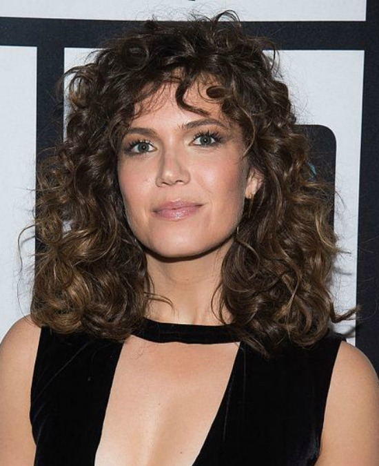 Mandy Moore Medium Curly Hair