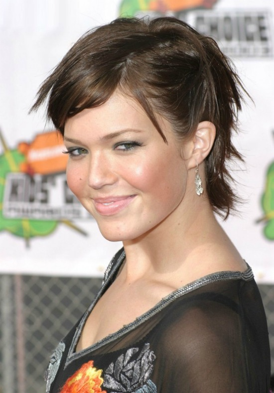 Mandy Moore Short Hairstyle