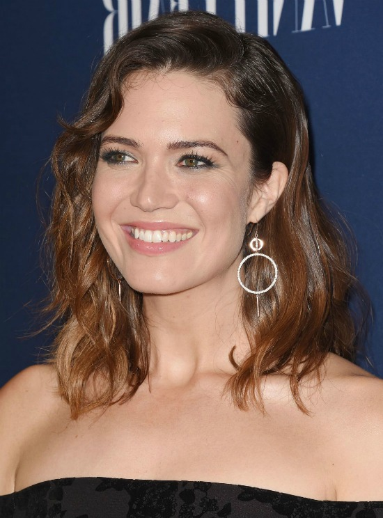 Mandy Moore Shoulder Length Hairstyle