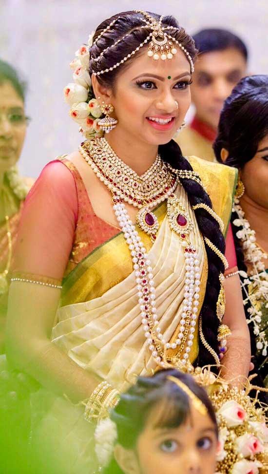 15 Kerala Wedding Sarees Amp Blouse Designs
