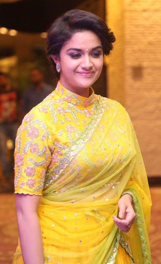 Keerthy Suresh in Yellow Saree