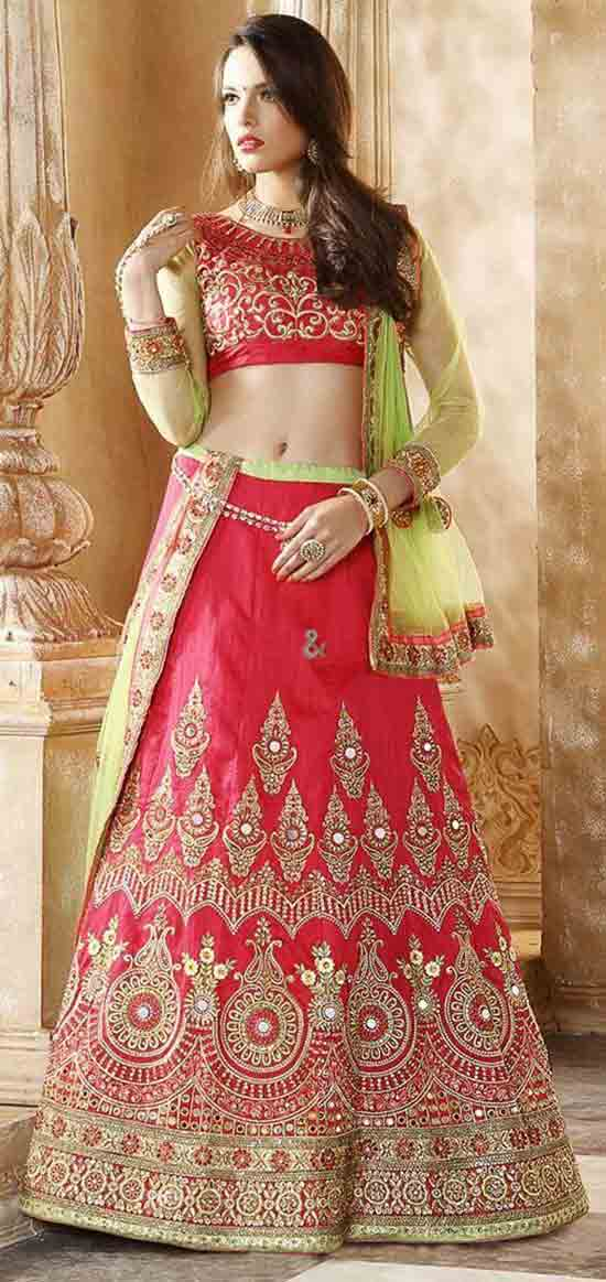 Latest Lehenga Designs For Engagement