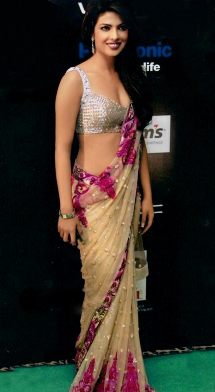 Priyanka Chopra In Replica Saree