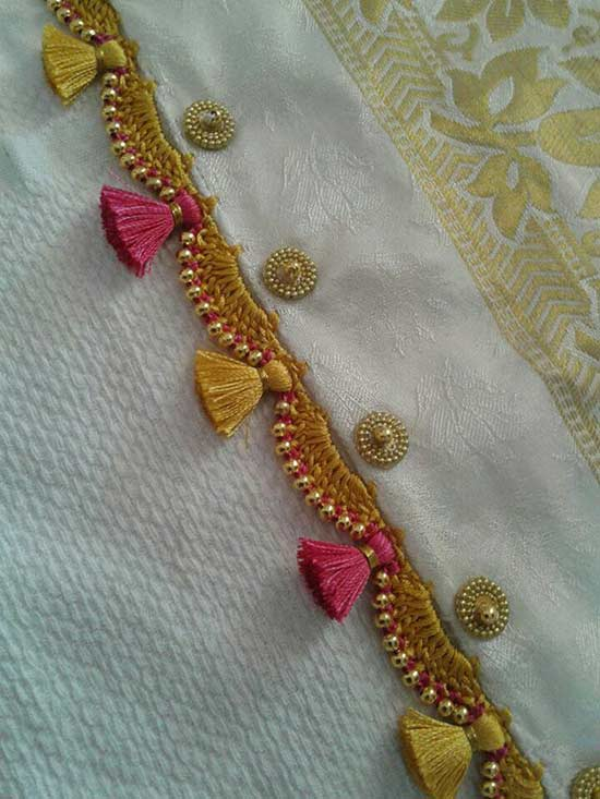 Crochet Kuchu Saree