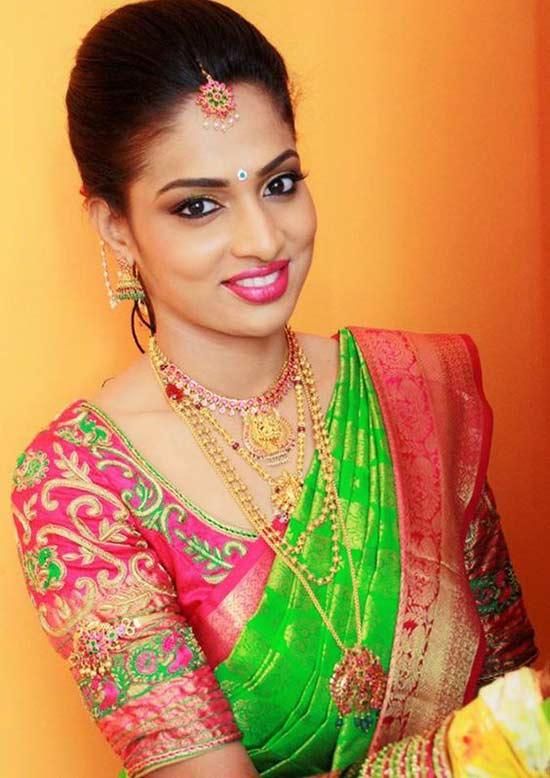 blouse work designs for pattu sarees