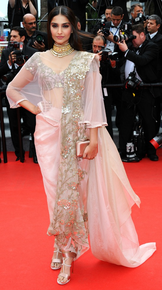 Sonam Kapoor Cannes Red Carpet Fashion