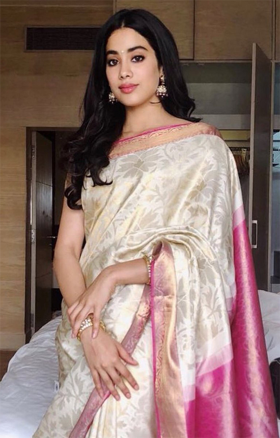 Janhvi Kapoor in Saree