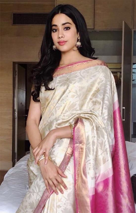 Janhvi Kapoor in Saree