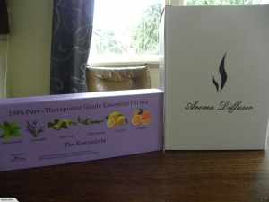 Lamp Aromatherapy Diffuser + 6 Oils Gift Pack 1