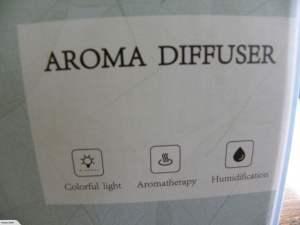 Metal Aromatherapy Diffuser 2