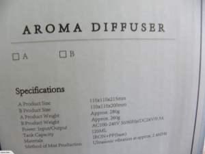 Metal Aromatherapy Diffuser 3