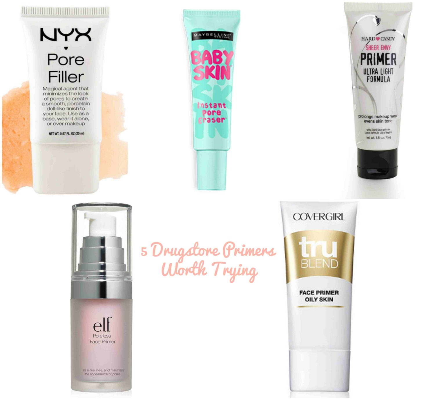 5 Drugstore Primers Worth Trying