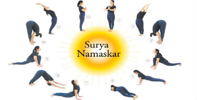Sun Salutation' or 'Surya Namaskara