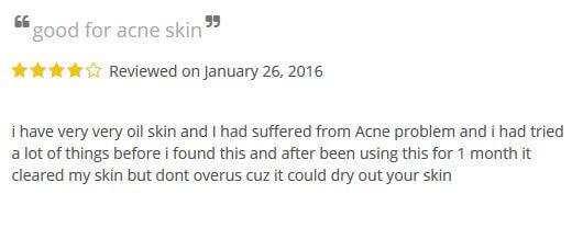 benzoyl peroxide for acne reviews 1