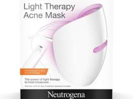 neutrogena light therapy acne mask