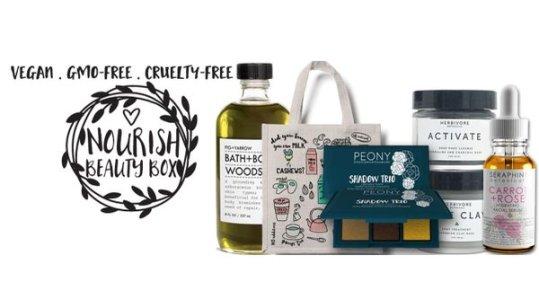 Nourish Beauty Box - best subscription boxes - cruelty-free beauty box subscriptions - vegan beauty box - vegan subscription box - unboxing subscription box review   beautyiscrueltyfree.com