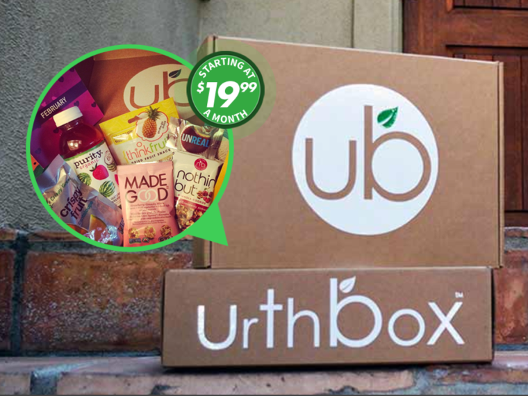UrthBox Healthy Snack Subscription Box - Vegan Snack Box -Snack Box Review - Healthy snack subscription box - Free subscription boxes - best subscription boxes - cruelty-free box subscriptions - vegan box - vegan subscription box - unboxing subscription box review | beautyiscrueltyfree.com