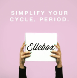 Ellebox organic tampons subscription box delivery monthly period box free coupon - best subscription boxes - beauty box subscriptions - mom subscription box - subscription boxes for moms - unboxing subscription box review | beautyiscrueltyfree.com
