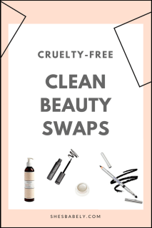 Go cruelty-free - clean beauty swaps, cosmetic companies that dont test on animals - Credo Beauty - Cruelty-Free Beauty And Makeup Brands - Unboxing promocode cruelty-free beauty vegan beauty box -   beautyiscrueltyfree.com