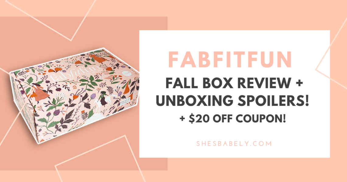 Fabfitfun Coupon - Fabfitfun subscription box review unboxing Promo- best subscription boxes - cruelty-free beauty box subscriptions - vegan beauty box - vegan subscription box - unboxing subscription box review | beautyiscrueltyfree.com