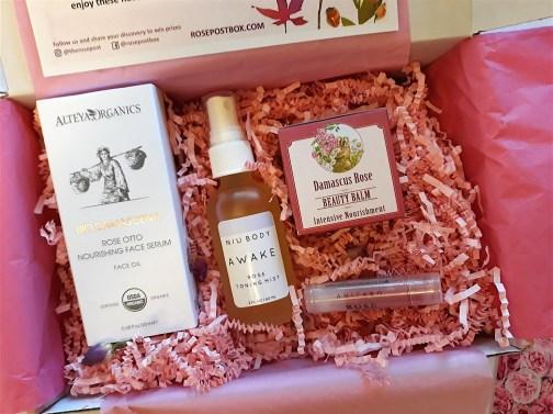Rosepost Box - beauty box subscriptions - mom subscription box - subscription boxes for moms - unboxing subscription box review | beautyiscrueltyfree.com